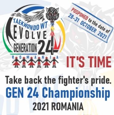Take back the fighter's pride. GEN 24 Championship 2021 – ROMANIA
